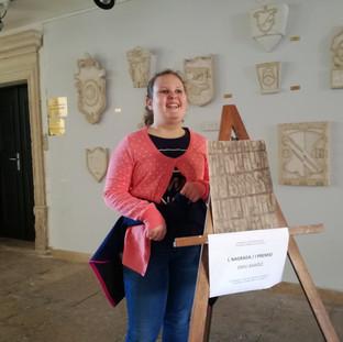 Dobitnica 1. nagrade u kategoriji djece školske dobi - Emili Barišić - OŠ Vodnjan, razred IV. a
