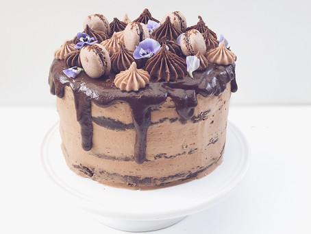 Chokoladelagkage