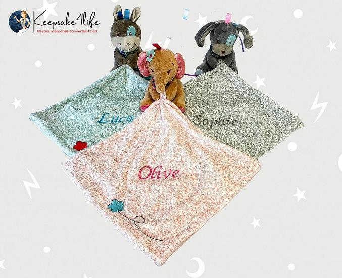 Keepsake MyBlankie™ Snuggle Comforter Animal Soft Plush