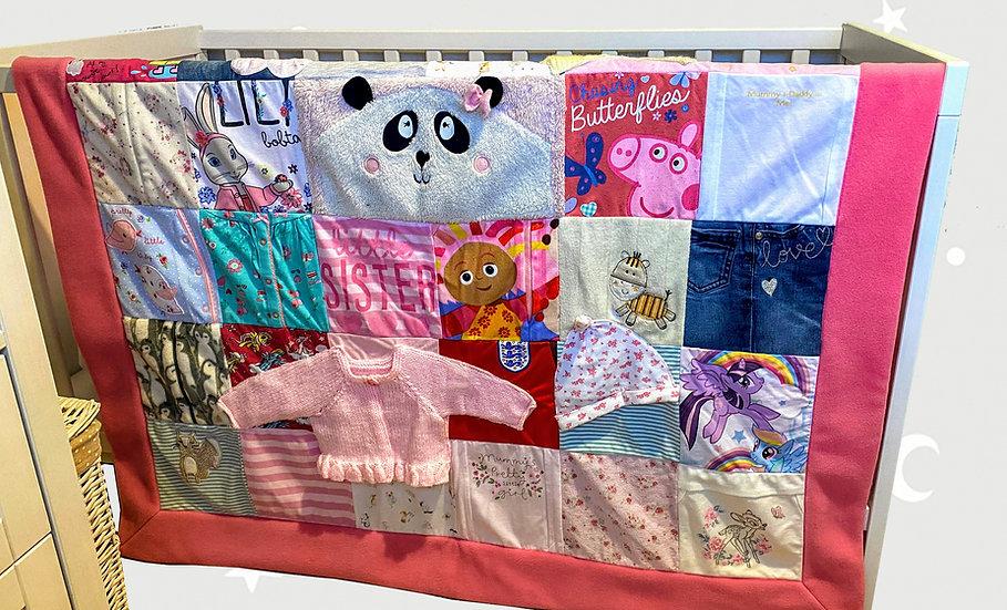 Double Bed Keepsake Baby Blanket