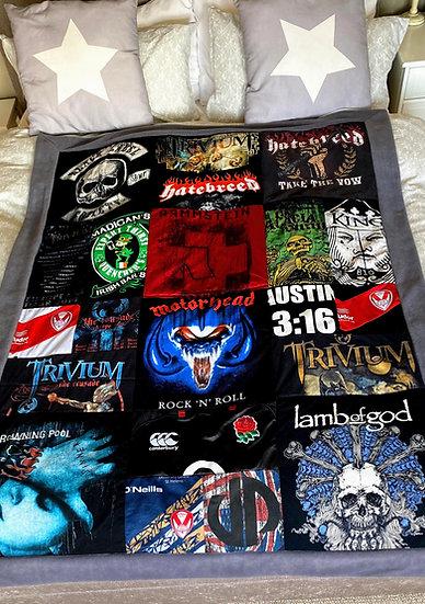 Single Bed Adult Keepsake Blanket
