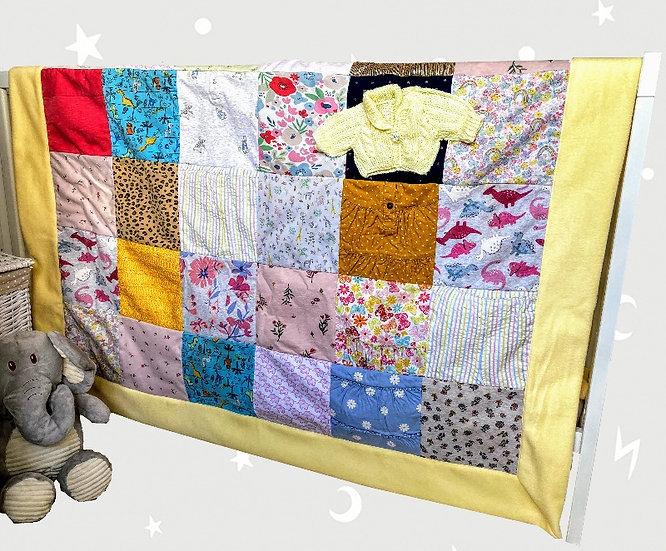 Single Bed Keepsake Baby Blanket