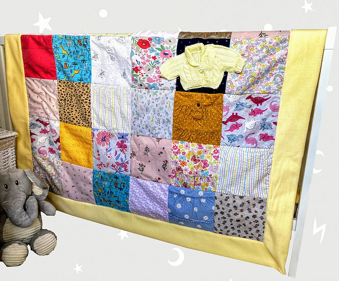 Single Bed Keepsake Baby Blanket