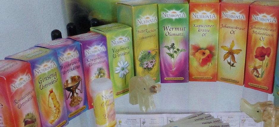 Blütenessenzen, Nuhrovia, Kräuter