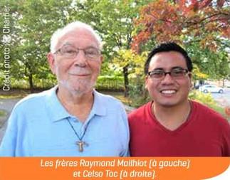 Fr. CELSO TOC ENCONTRÁNDOSE CON FRAY RAYMOND EN CANADA NARRAN ALGO ACERCA DE SU EXPERIENCIA MISIONER