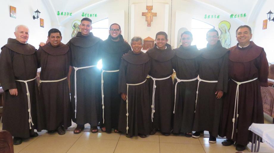 Toma de Hábito Franciscano