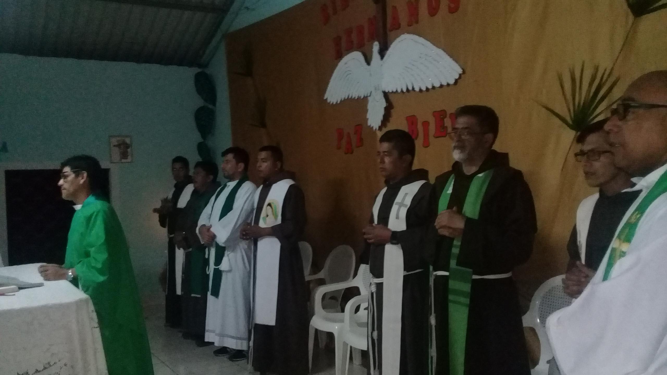 Frailes en Honduras