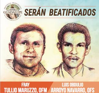 Serán Beatificados Fr. Tullio Maruzzo y Luis Obdulio Arroyo