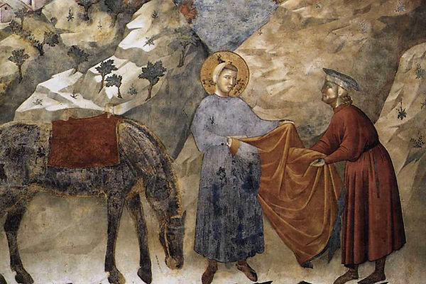 st-francis-giving-his-mantle-to-a-poor-m