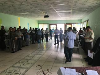 Reunión Regional Frailes Franciscanos Guatemala
