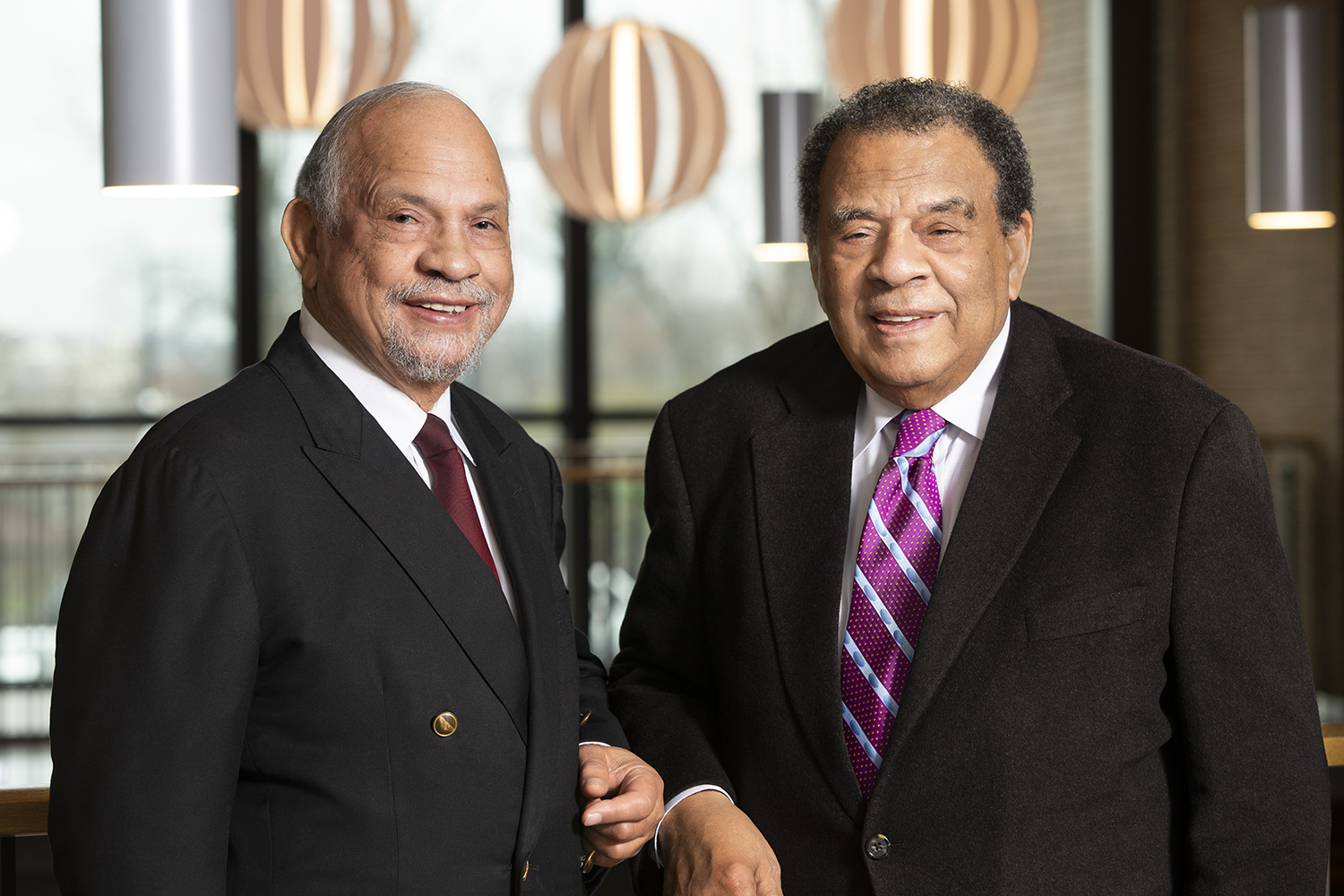 Dr Walter Young  Ambassador Andrew Young