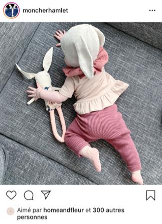 Post instagram de moncherhamlet