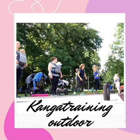 Le Kangatraining se pratique aussi bien en extérieur qu'en intérieur
