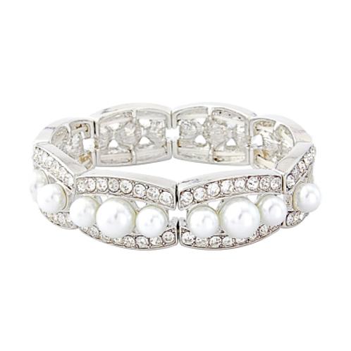 Chic Pearl Stretch Bracelet