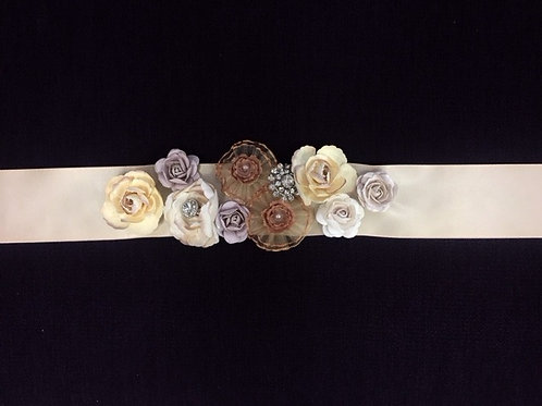Multi Flower Sash