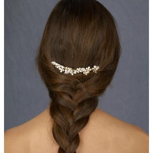 Elegant Gold Toned Hair Comb