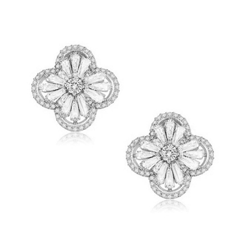 CZ Gatsby Glam Collection Earrings