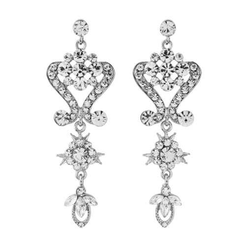 Crystal Glam Earrings