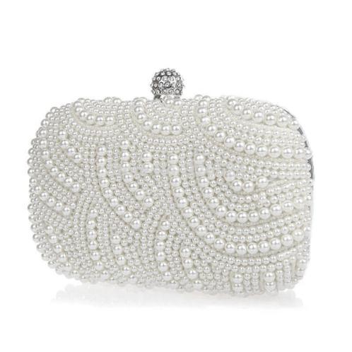 Classic Pearl Clutch Bag