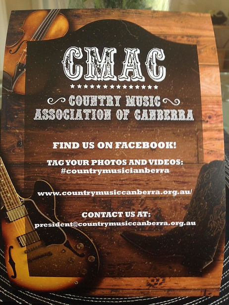 CMAC, Country Music, Canberra