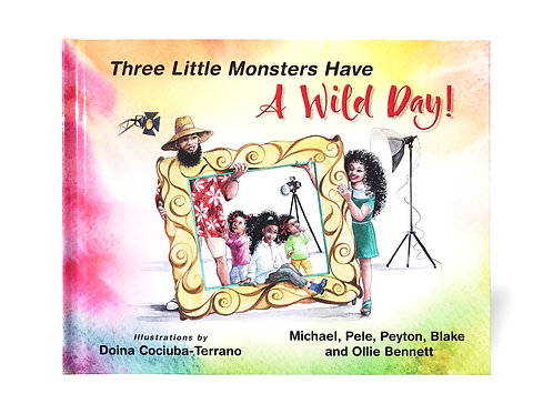 Three Little Monsters Have a Wild Day!