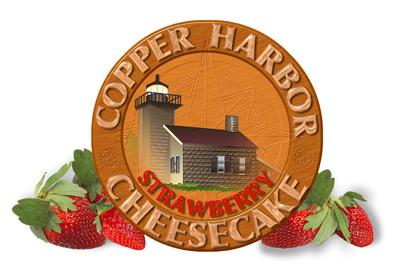 Copper Harbor Strawberry Cheesecake