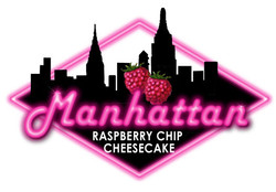 Manhattan Raspberry Chip Cheesecake