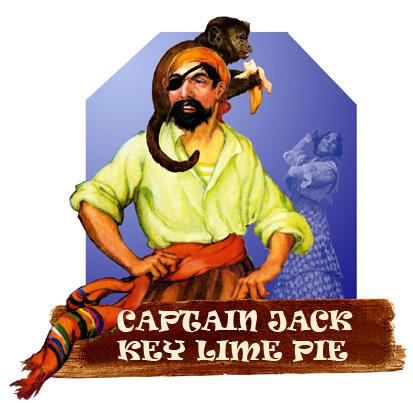 Captain Jack Key Lime Pie