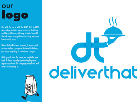 The Re-branding of DeliverThat