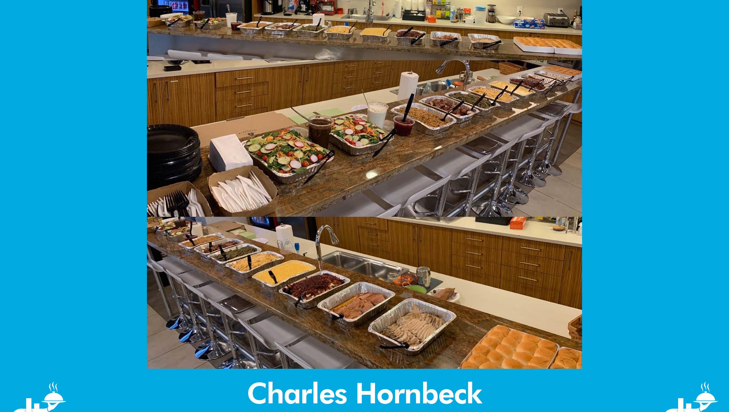 Charles Hornbeck Setup Photo