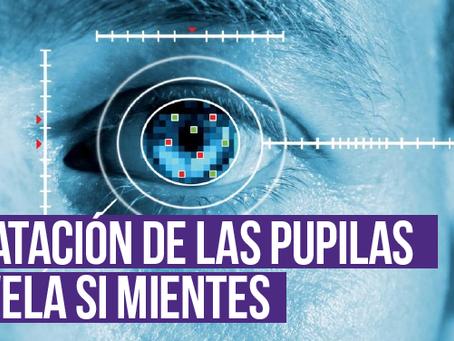 Dilatación de las pupilas revela si mientes