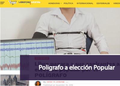 Polígrafo a elección Popular
