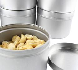 B017ISZ84O - Medium 8oz DIY Candle Tin Jars, Great Survival Candle Tins (6 Pack) 6