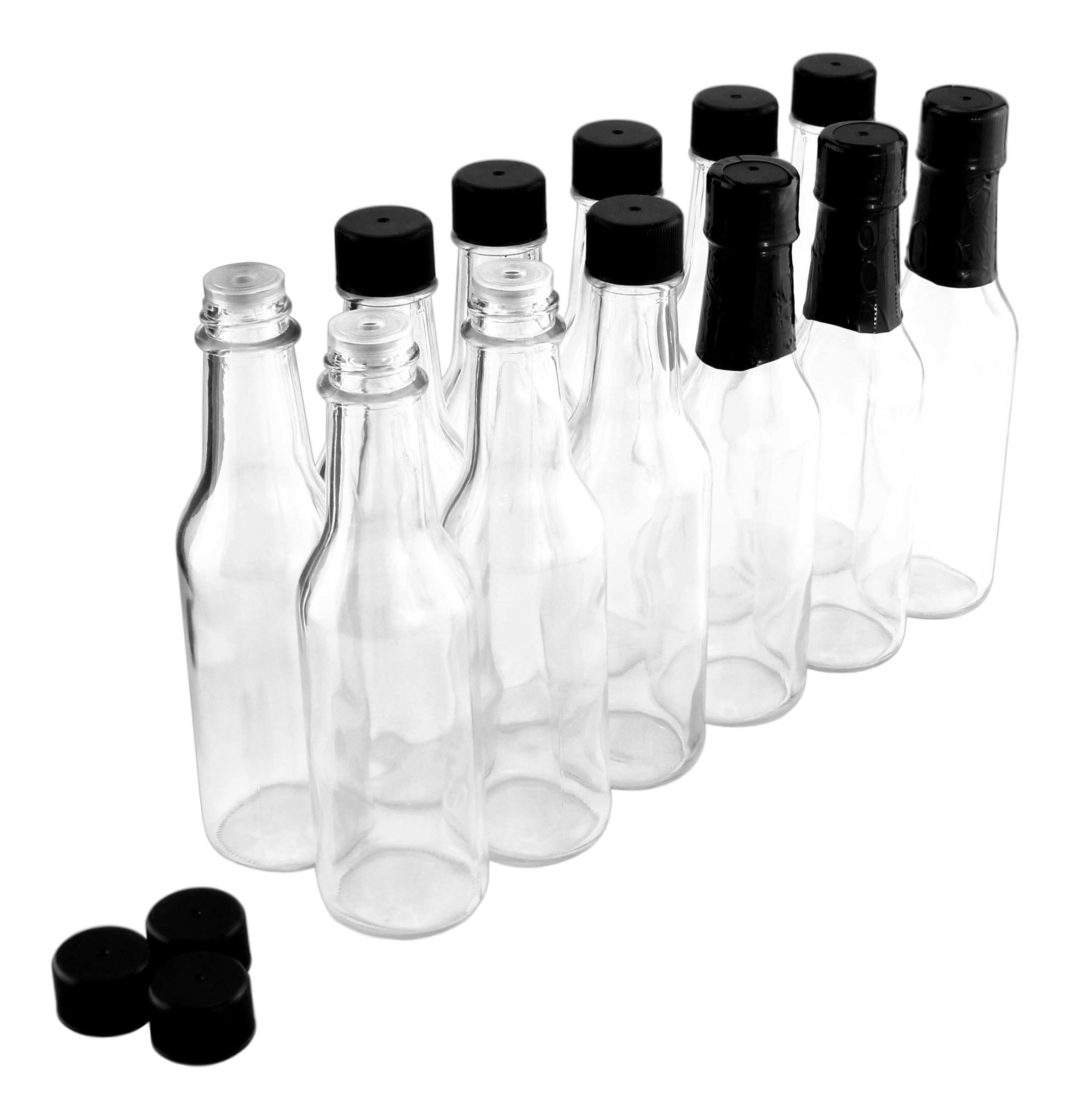 B016LPPR4Q - 5oz Empty Hot Sauce Woozy Bottles (12 Complete Bottles) (2)