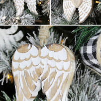 Carved Angel Wings - Lifestyle (3 pics).