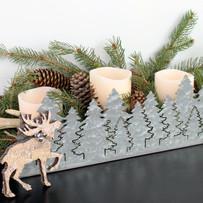 Galvanized Winter Tray