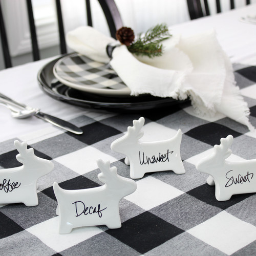 Reindeer Place Card Holders