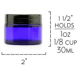 B018SFM042 - 1 oz Cobalt Jars Measuremen