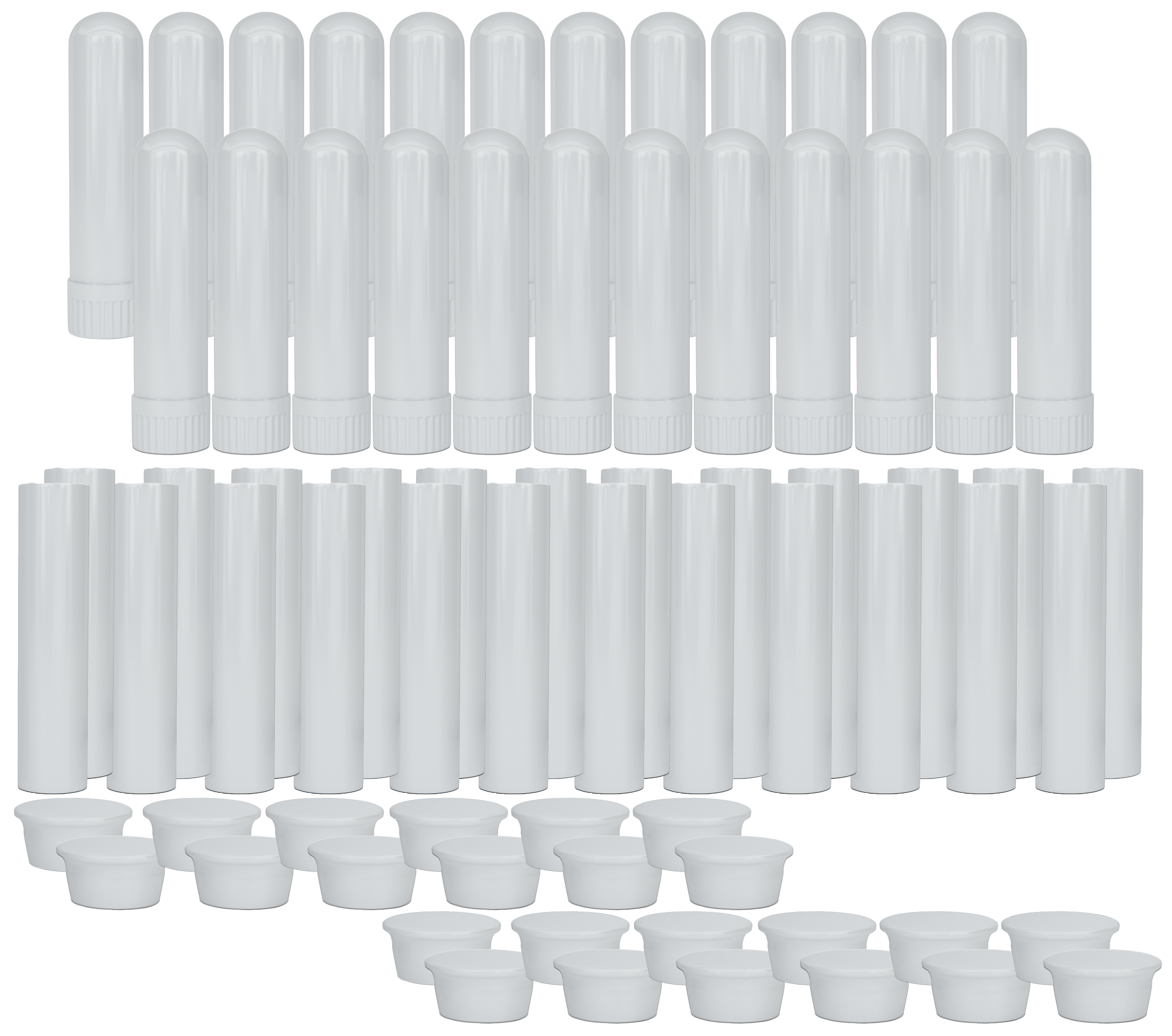 B011A1HRK8 - Essential Oil Aromatherapy Blank Nasal Inhaler Tubes (24 Complete Sticks) 1