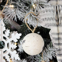 Birch Ball Ornaments