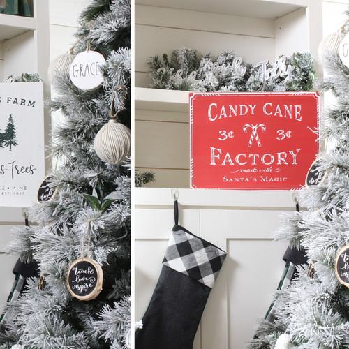 Farmhouse Christmas Signs