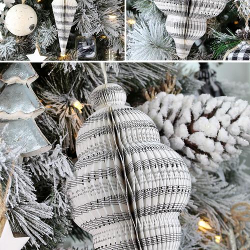 Honeycomb Book Print - Close Up on Tree