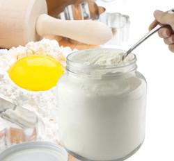 B01FMVSXHS - 64oz Clear Wide-mouth Glass Jar, BPA free Food Grade w White Metal Lid (Half Gallon) 4