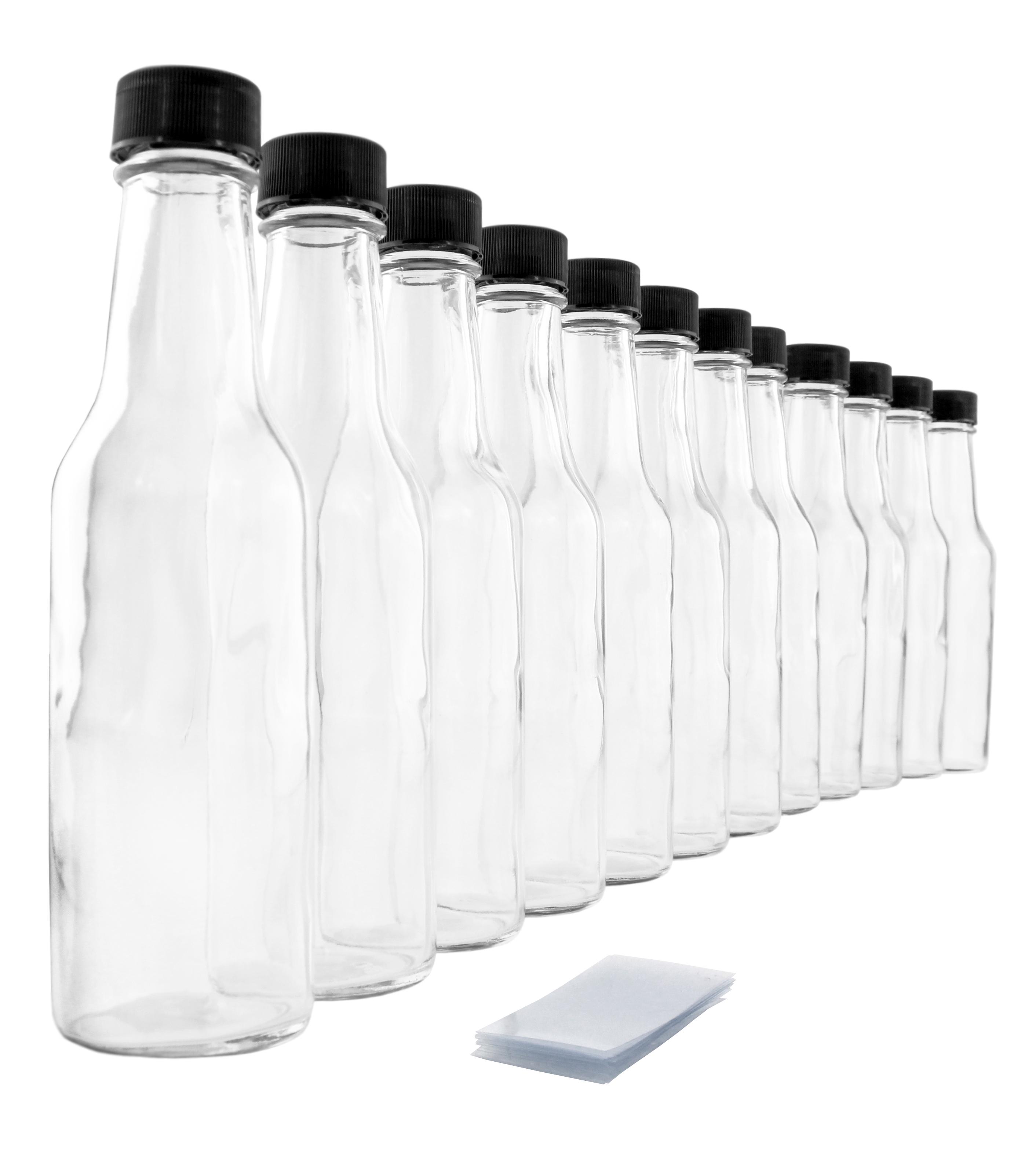 B016LPPR4Q - 5oz Empty Hot Sauce Woozy Bottles (12 Complete Bottles) 1
