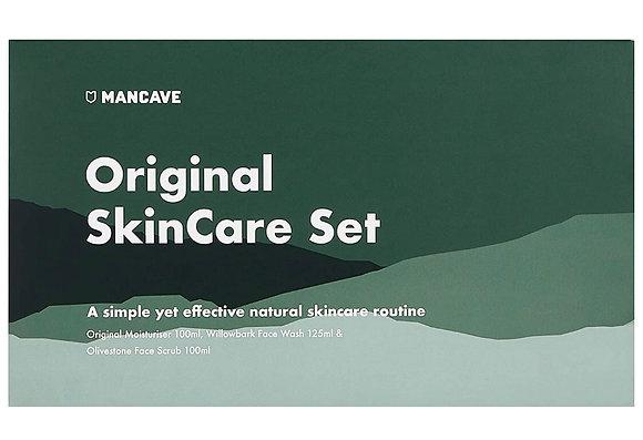 Mancave Original Skincare Set