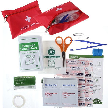 Travel First Aid kit (Filled)
