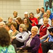 Choir Practice, Prairie Ridge Middle School