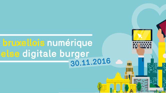 Colloque / Colloquium - Le citoyen bruxellois numérique - De Brusselse digitale burger