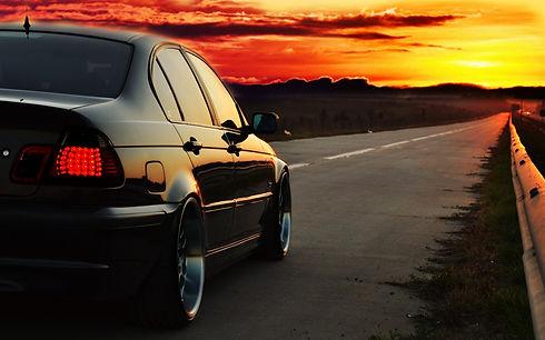 246213-BMW_E46-photoshopped-sunset-road-