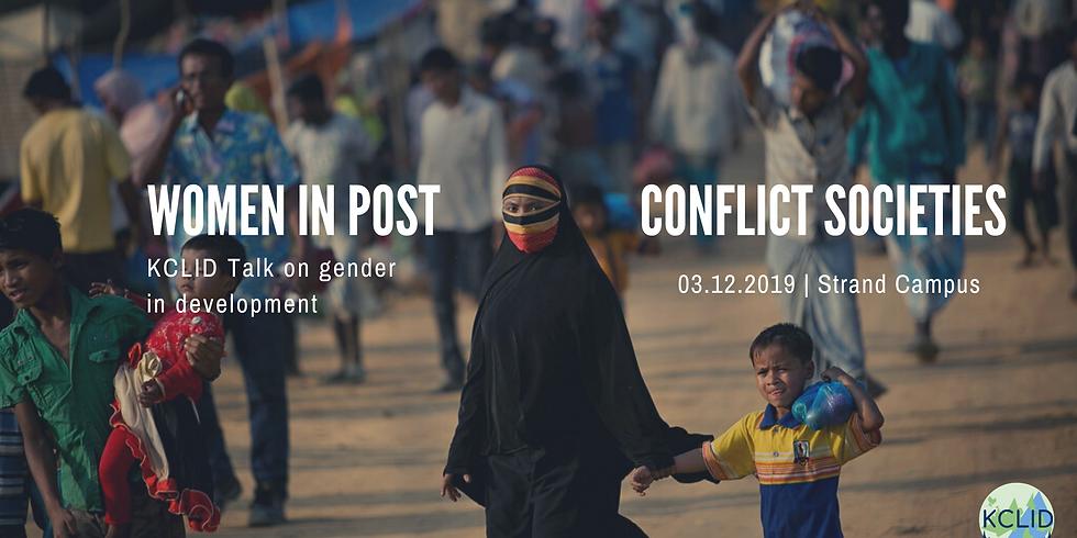 Women in post-conflict societies